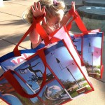 Reusble bags are good for all ages to use!